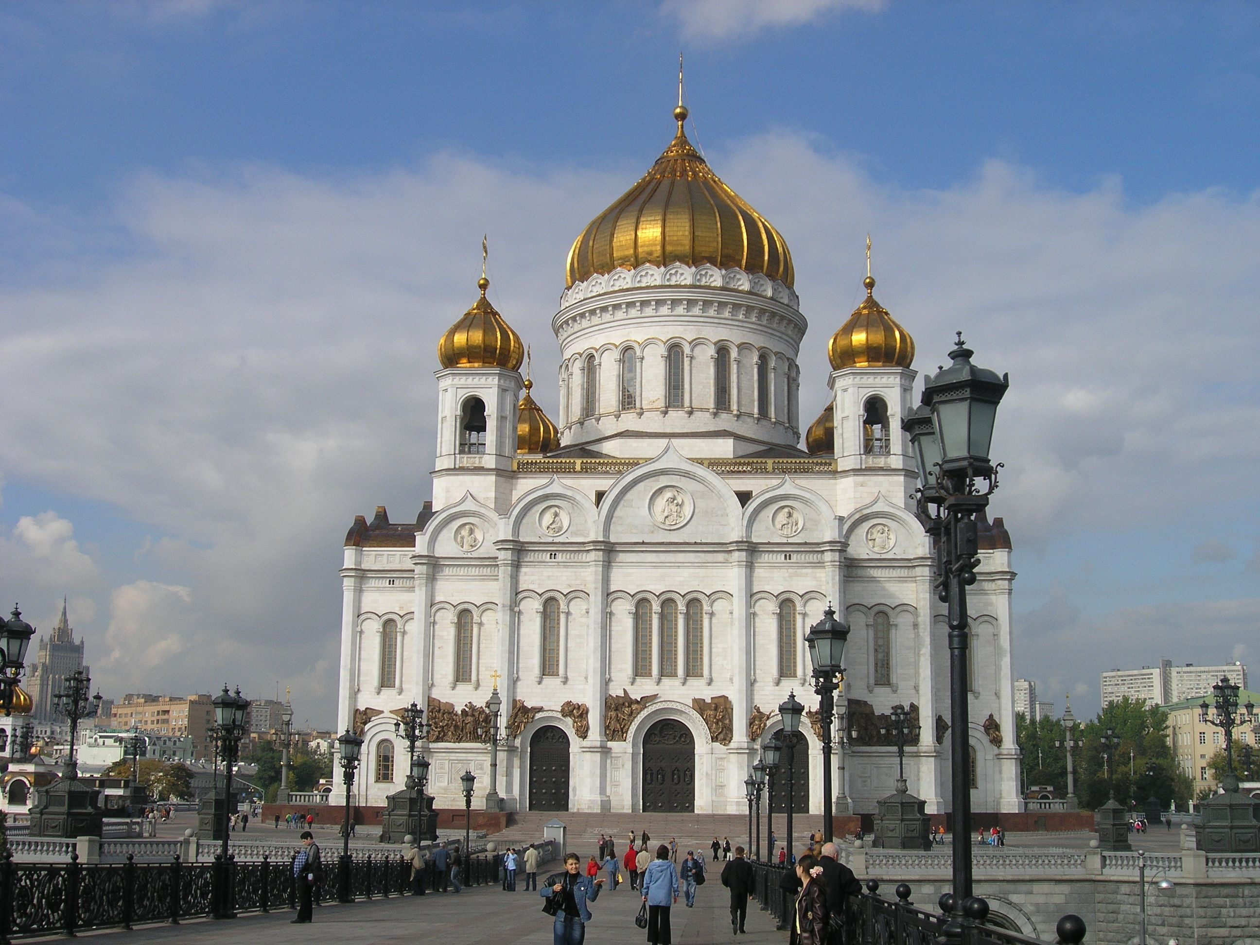 Cathedral of Christ the Saviour (desmolished, and then rebuilt)
