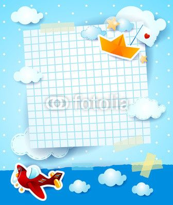 New #vector at #Fotolia! :) #baby #shower #invitation #airplane #boat #paper #template http://it.fotolia.com/id/75683014