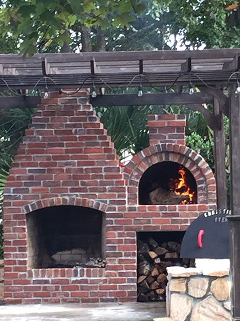 Wood Fired Outdoor Brick Pizza Oven By The Bleckledge