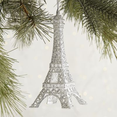 Glitter Eiffel Tower Ornament Pier 1 Imports Holidays