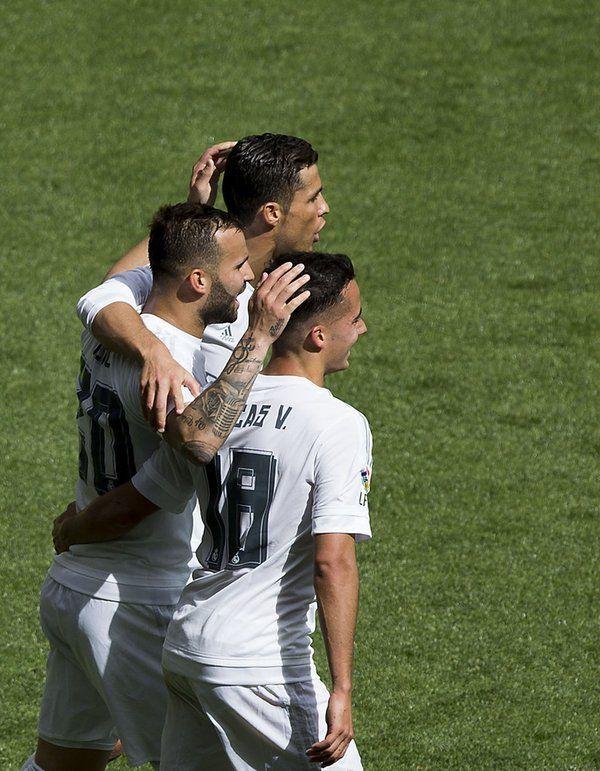 Cristiano Ronaldo, Lucas Vázquez & Jesé