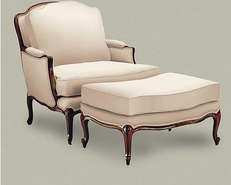 Ethan Allen: Versailles Chair  My New Chair And Ottoman!! In Orange