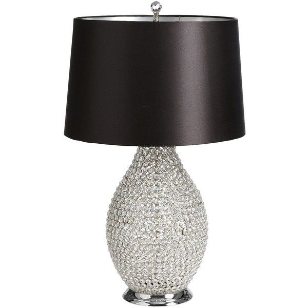 Pier One Table Lamps Pier One Beaded Crystal Lamp $299 Via Polyvore  Let's Decorate