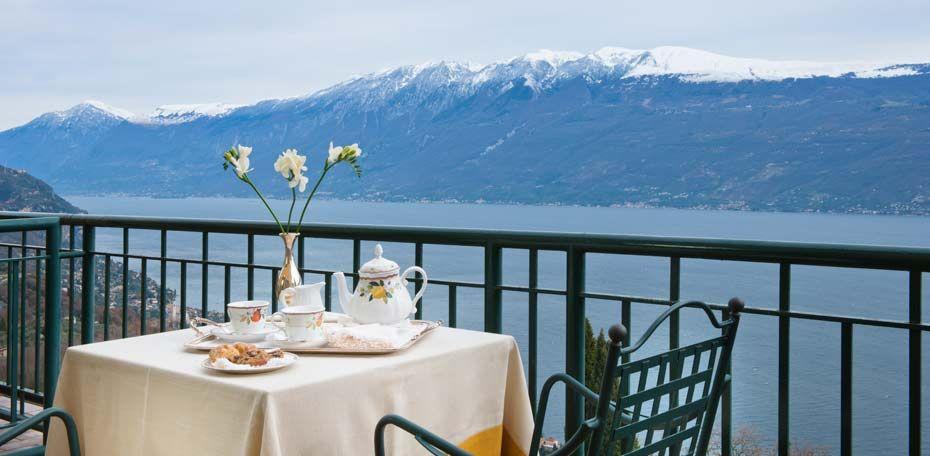 Villa Sostaga romantischer Boutiquehotel in Gargnano am Gardasee. 4 Sterne Hotel mit Schwimmbad und 19 Suiten