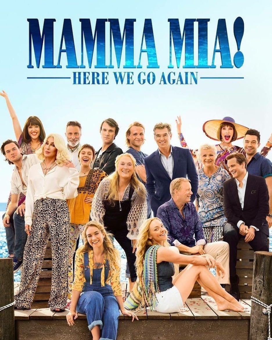 Mamma Mia 2 Was So Freaking Good I Watched It 3 Times And I Cried So Much Merylstreep Amandaseyfried Lilyjames Do Mamma Mia Full Movies Online Free Mamma