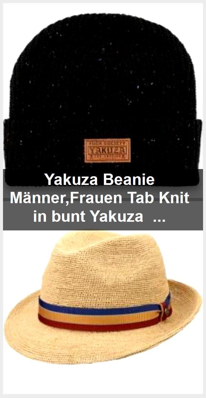 Yakuza Beanie Männer,Frauen Tab Knit in bunt Yakuza InkYakuza Ink,  #beanie #bunt #Ink #InkYakuza #Knit #MännerFrauen #Tab #Yakuza
