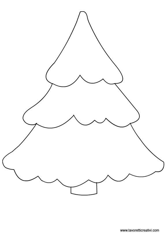 Sagome di natale da ritagliare. Sagome Alberi Per Lavoretti Fantasie Natalizie Ornamenti In Feltro Alberi Di Natale In Feltro