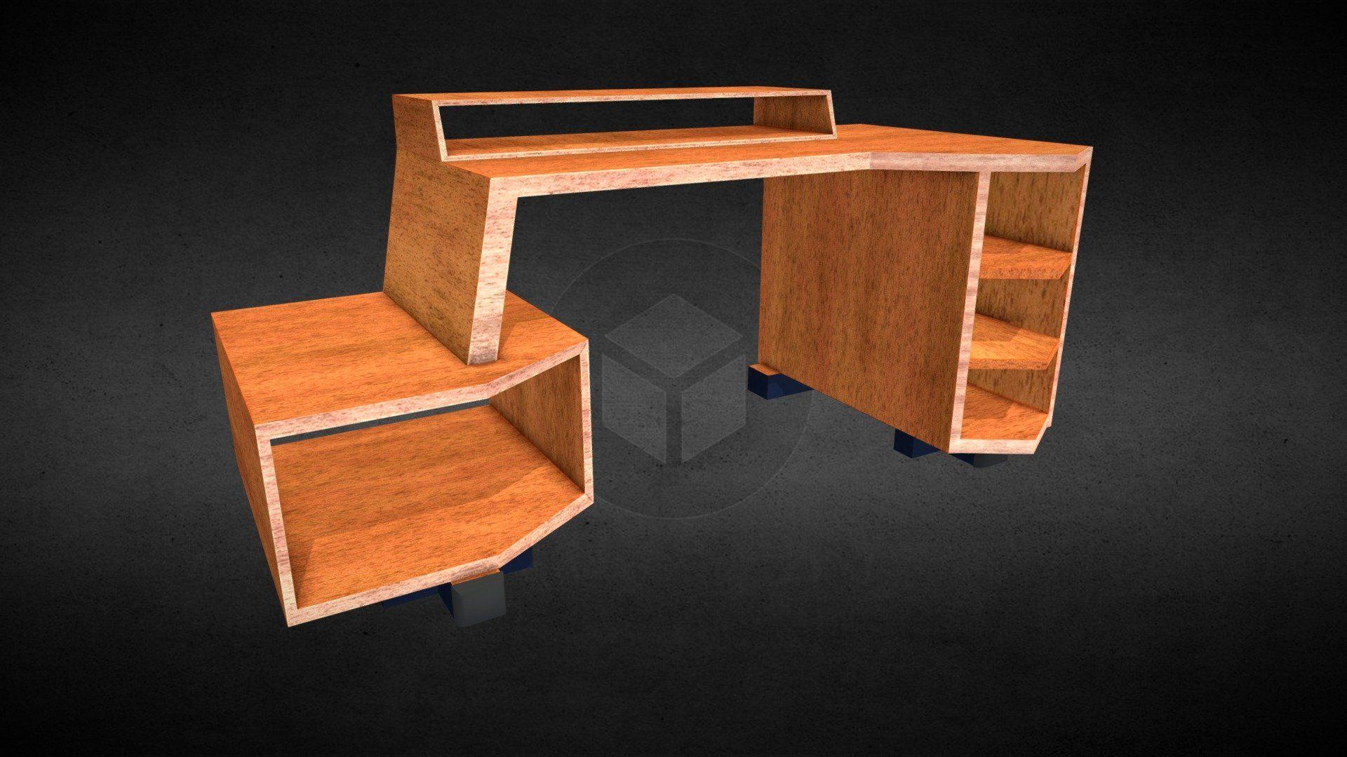 Gamer Desk By Paburoviii Buy Desk Model Game Engine