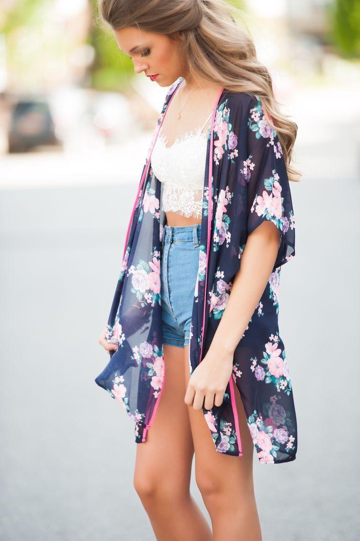 How To Wear Kimonos (Outfit Ideas) 2017