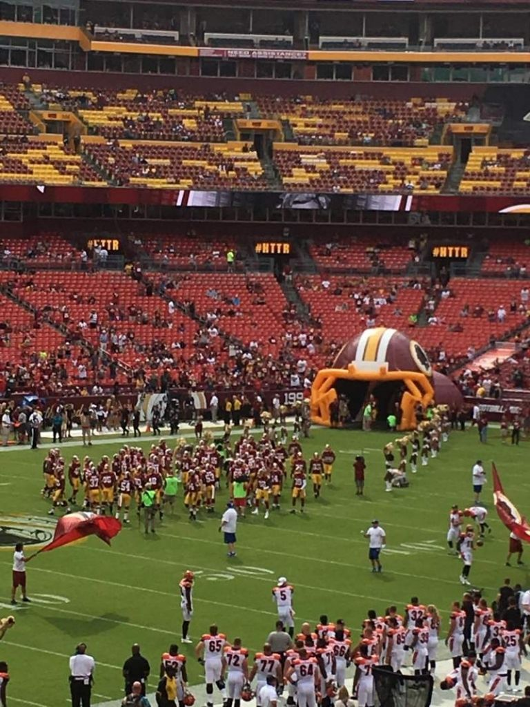 Photos At Fedex Field For Fedex Field Seating Chart U2 Seating Chart