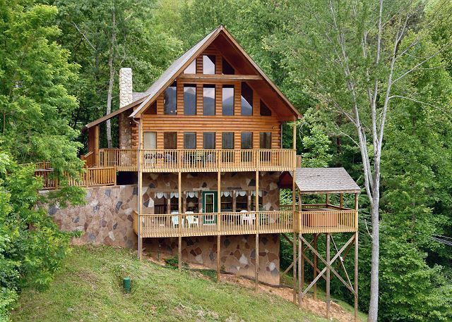 in cabin the pictures smokies bedroom downtown paw gatlinburg best bear tn of gorgeous cabins