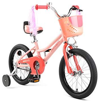 Amazon Com Retrospec Koda Kids Bike With Training Wheels 16 3