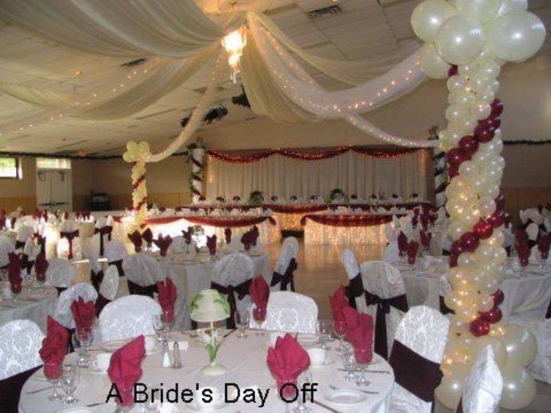 Wedding Hall Decorations Reception Photos Of