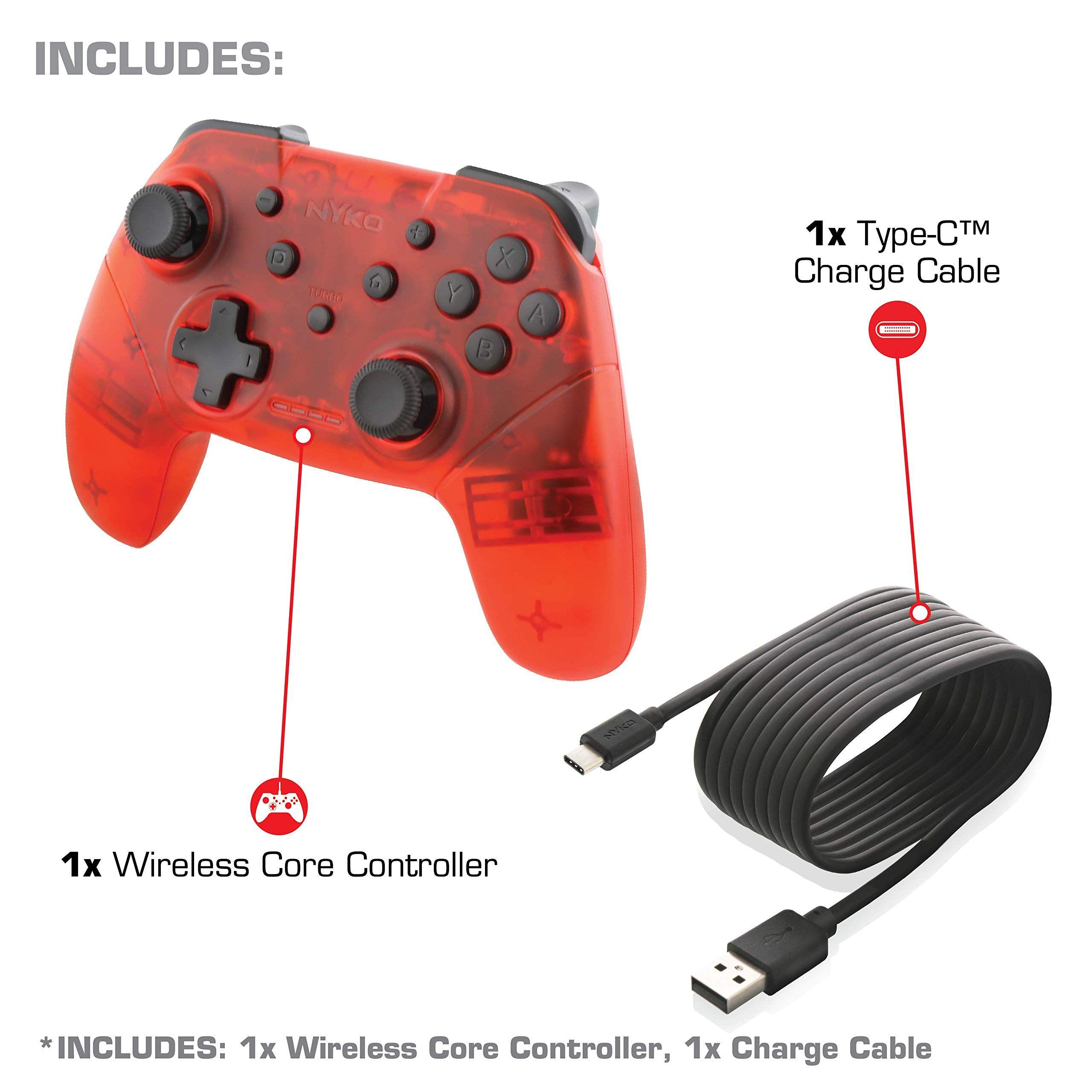 Nyko Wireless Core Controller - Bluetooth Pro Controller