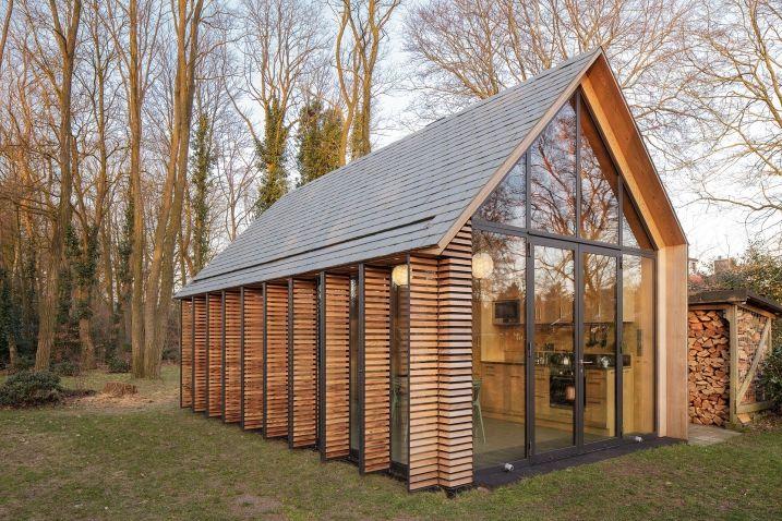 Chalet contemporain en verre bois et acier | Mountain houses ...