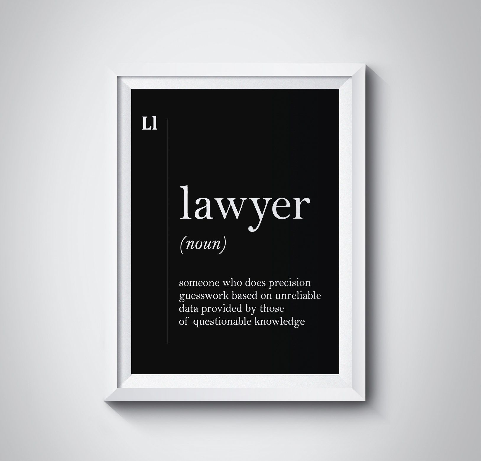 Lawyer Definition Lawyer Gift Attorney Gift Lawyer Poster Lawyer