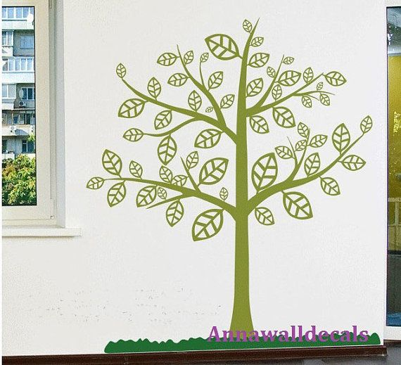 TREE:wall decals, children wall decals,vinyl wall decal, wall ...