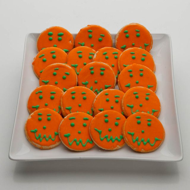Trick Or Treat Cookies from Smiley Cookie,, stop by to snag your 10 - neighborhood halloween party ideas