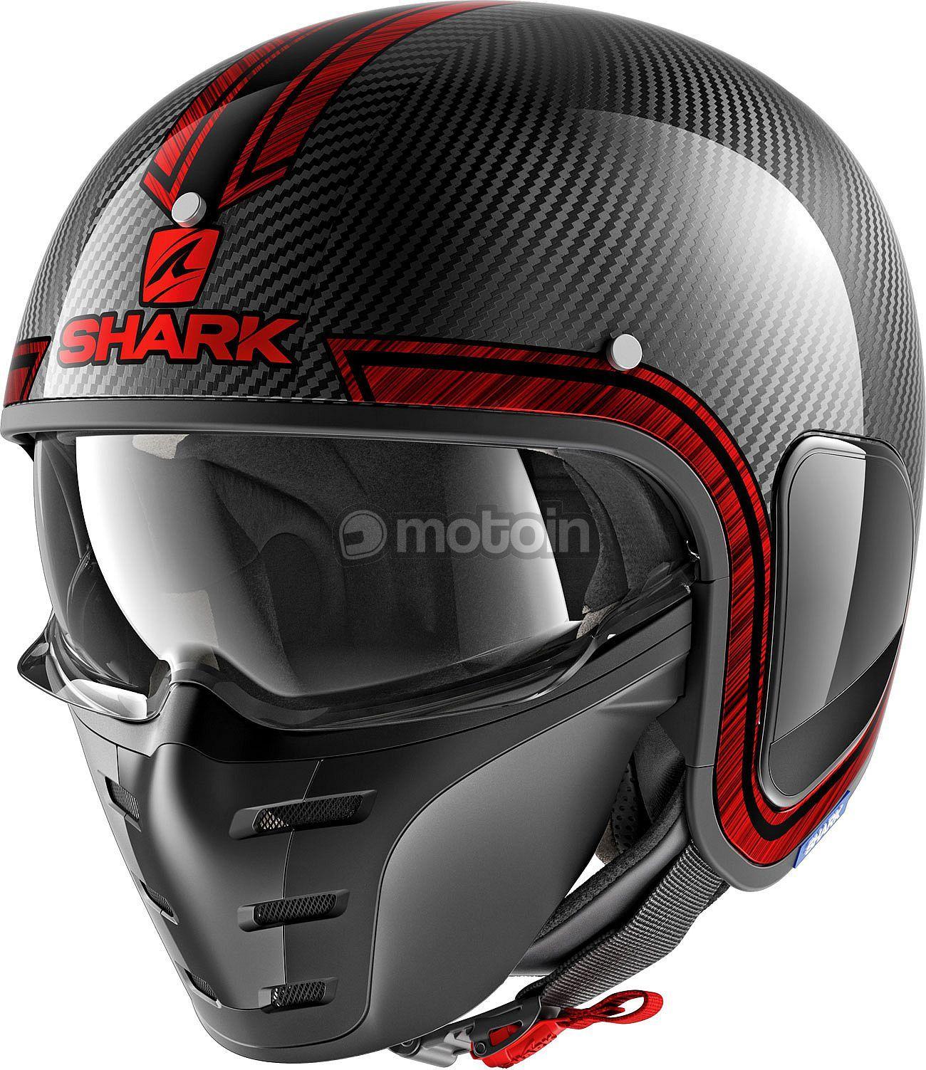 Shark S Drak Vinta Carbon Jethelm Helmets Shark Helmets