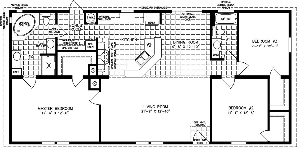 4 bedroom 2 bath modular home floor plans thefloors co for 3 bedroom modular home floor plans