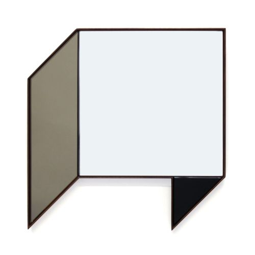SHAPE MIRRORS - BLACK, BRONZE AND CLEAR MIRROR