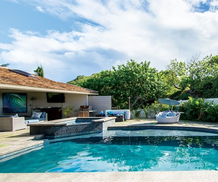 Family Style Spa Pool Pool Outdoor