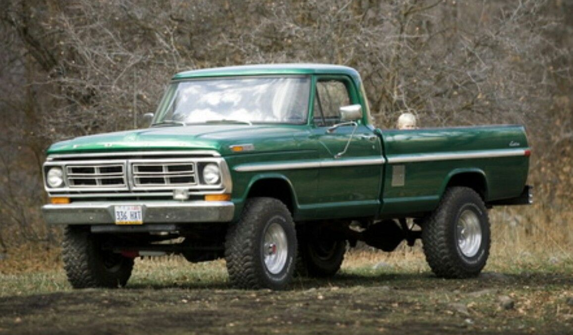 72 Ford Highboy Old Ford Trucks Lifted Ford Trucks Classic