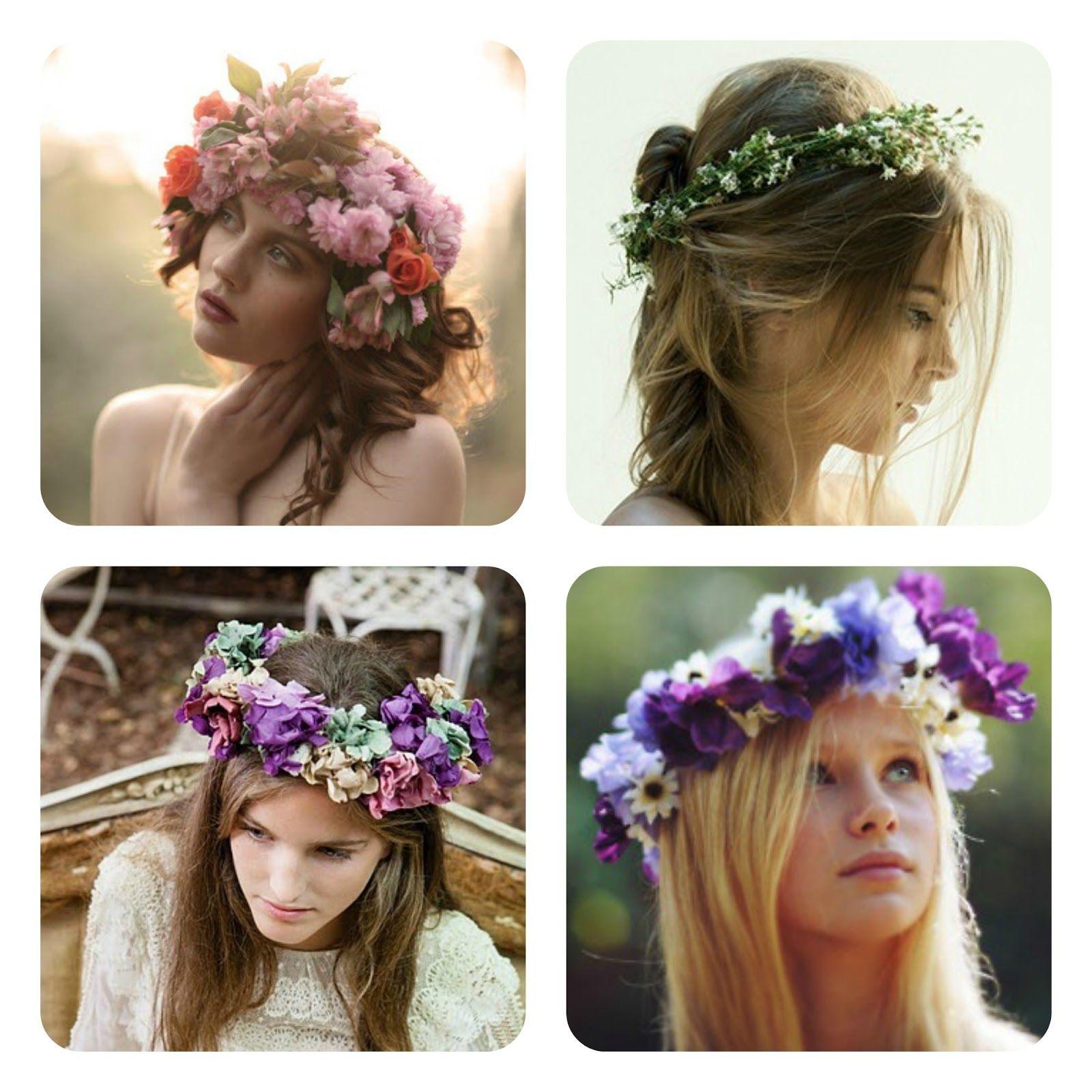 kilika hecho a mano coronas de flores cmo hacertocadoscoronaspeinadoshechoprimera - Como Hacer Diademas De Flores