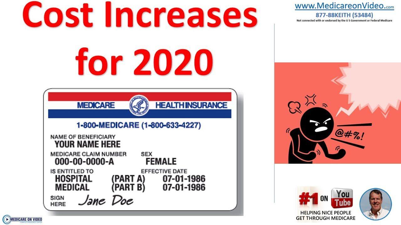 Medicare costs 2020 new medicare premiums medicare