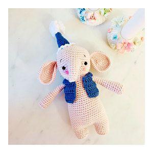 Amigurumi pattern Crochet Elephant pattern Crochet pattern amigurumi elephant crochet pattern Crochet toy pattern Amigurumi toy Elephant toy #crochetelephantpattern