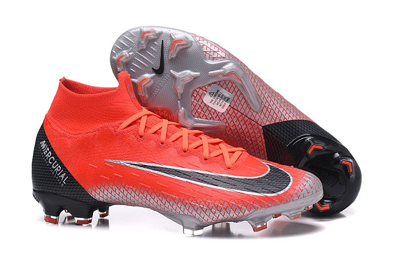 quality design f36ca ce2eb Ronaldo Nike Mercurial Superfly VI 360 Elite FG Botas - Rojo Negro