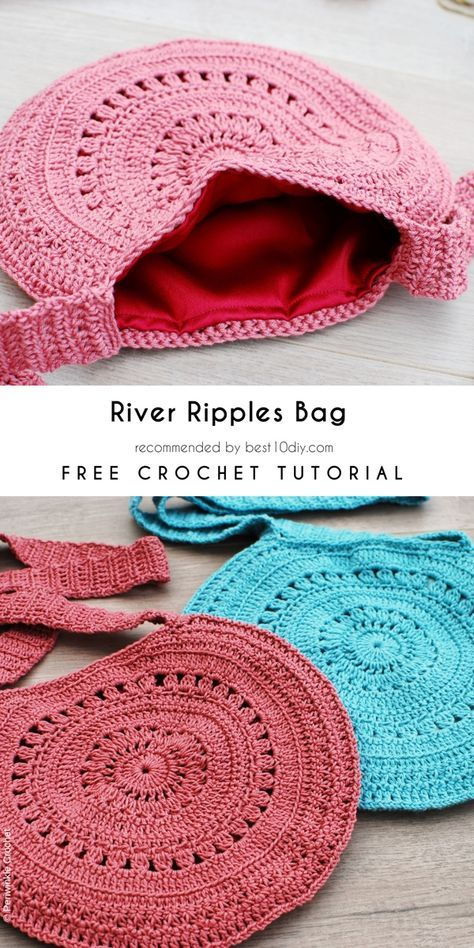 Httpsbest10diydiy How Tocrochet Bags Totes Free Pattern