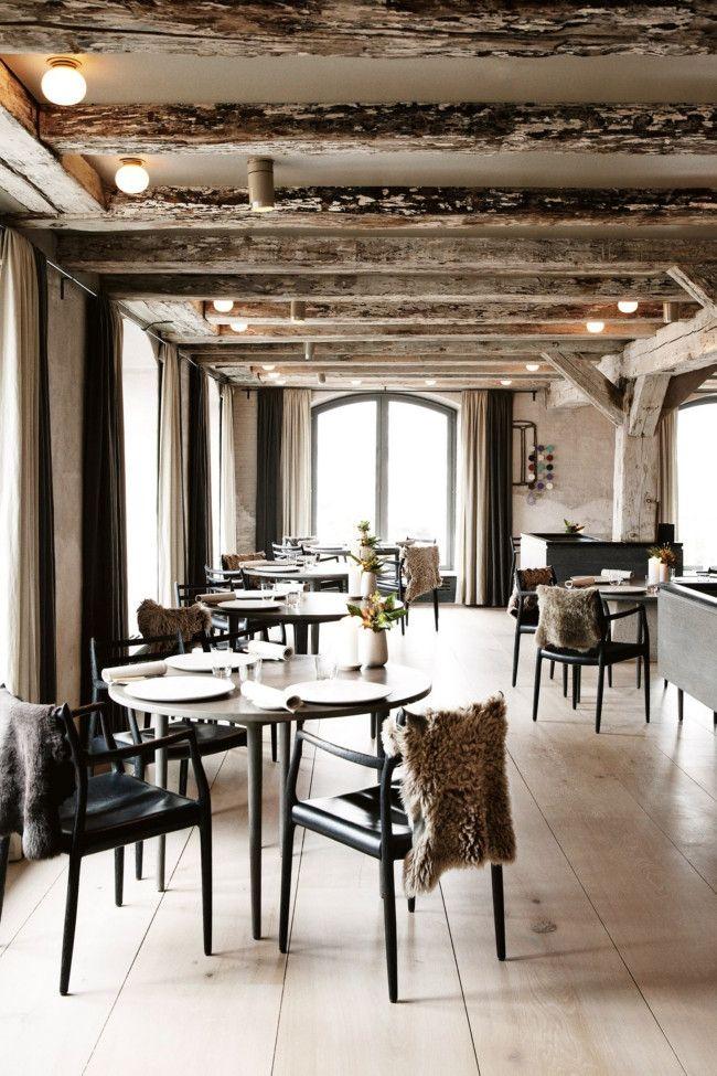 Get The Look Scandinavian Meets Japanese Rustic Restaurant Gorgeous Interiors Noma Restaurant