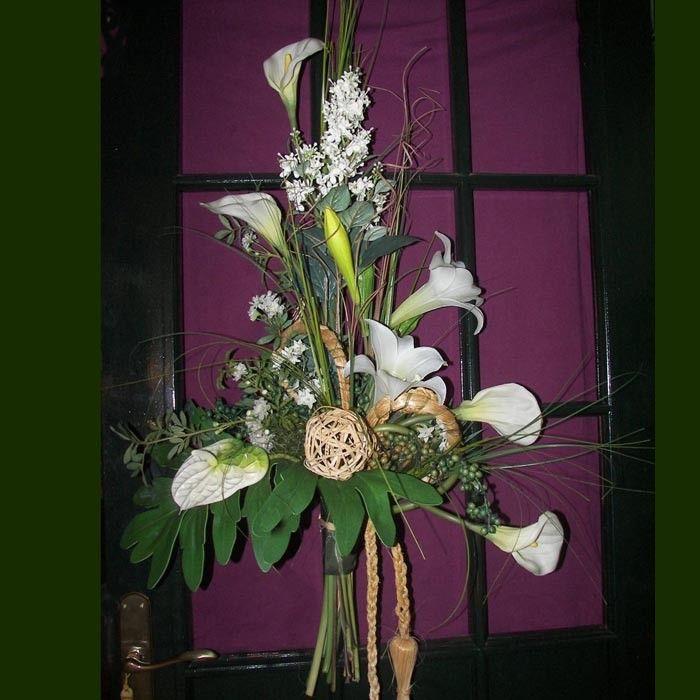 S per ramo de flores blancas y hojas verdes compra flores - Plantas de hojas verdes ...