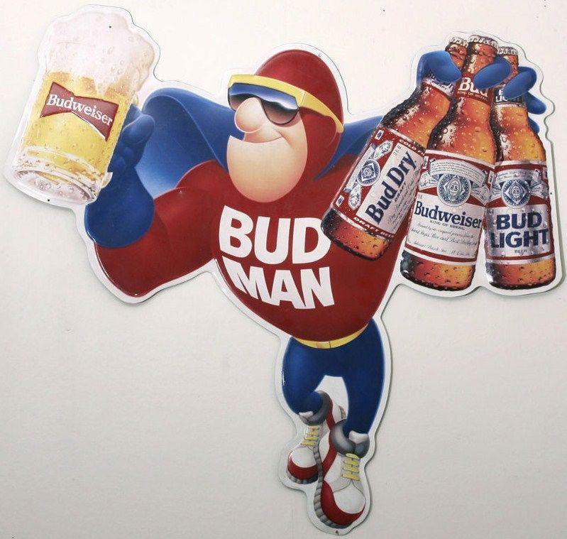 Bud Light Man Cave Signs : Bud light ring budweiser man tin bar sign