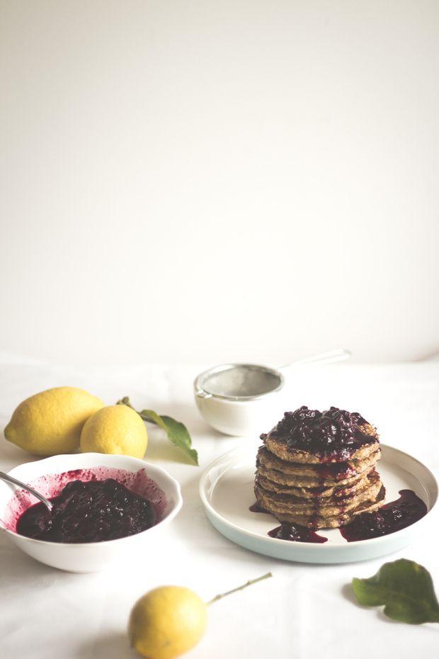 Lemon&Yogurt Pancakes | Migalha Doce