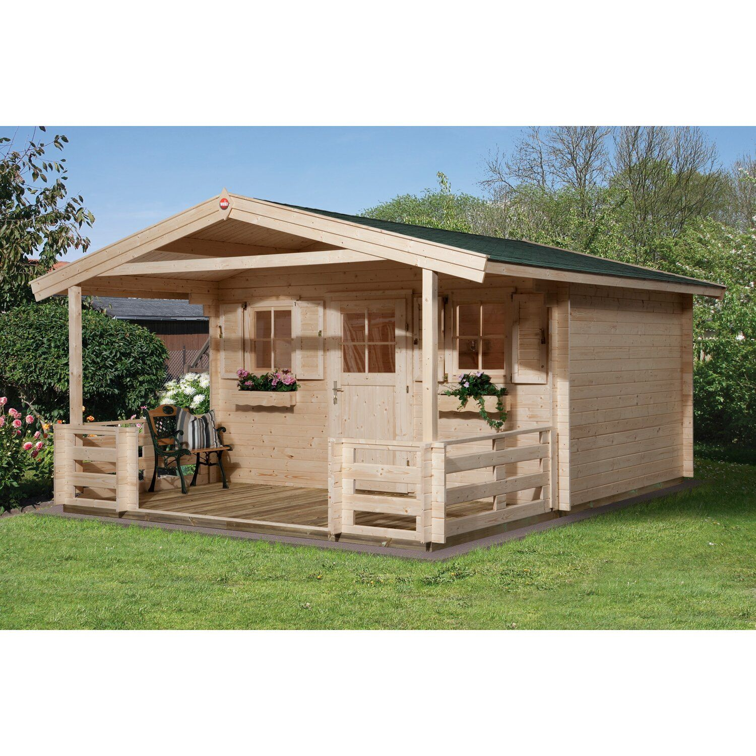 Gartenhaus Obi Holz In 2021 Outdoor Structures Wood Roof Wood Construction