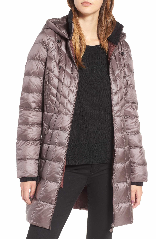 Bernardo Down Primaloft Coat Regular Petite Nordstrom Puffer Jacket Women Walking Coats Quilted Outerwear [ 3000 x 1956 Pixel ]