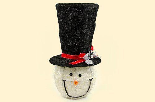 Sisal Snowman Tree Topper