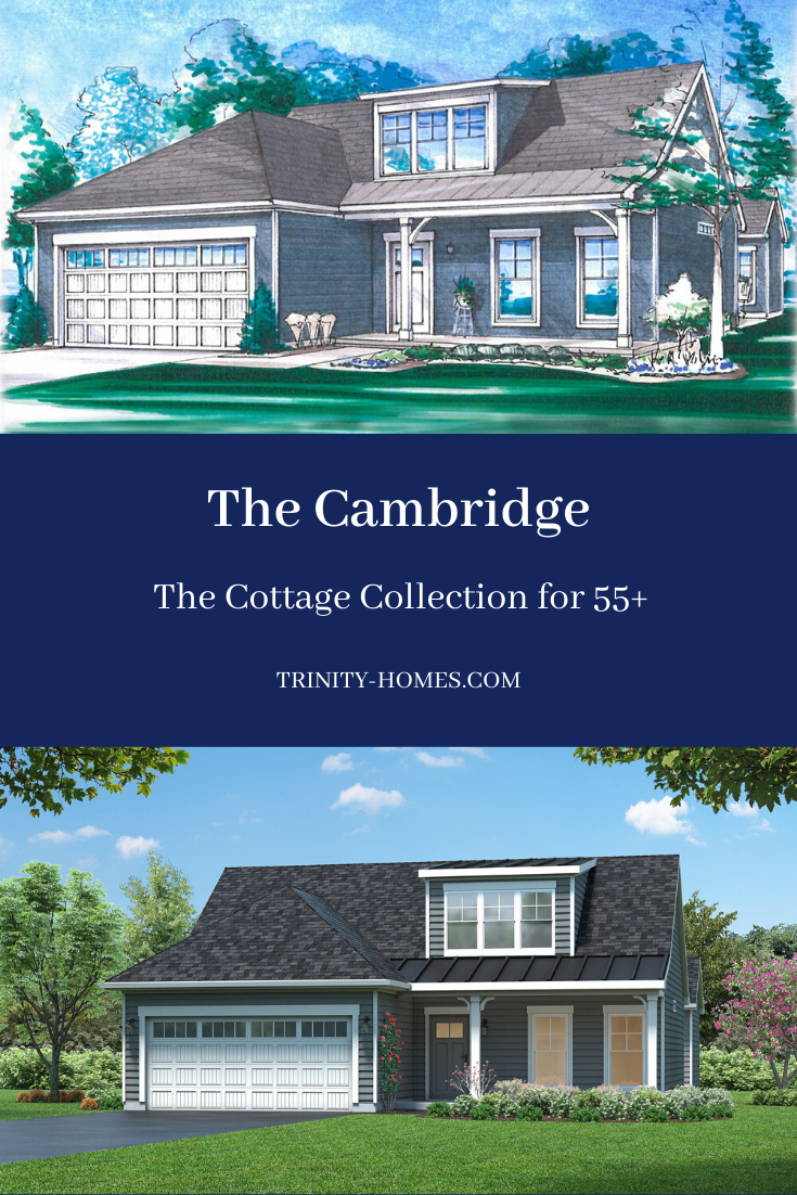 Cambridge The Cottage Collection For 55 Trinity Homes Grove City In 2020 Trinity Homes Cottage Custom Floor Plans