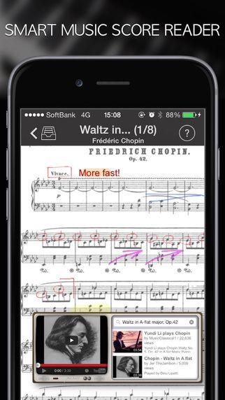 Sheet Music Reader Piascore Catalog Of Songs With Guitar