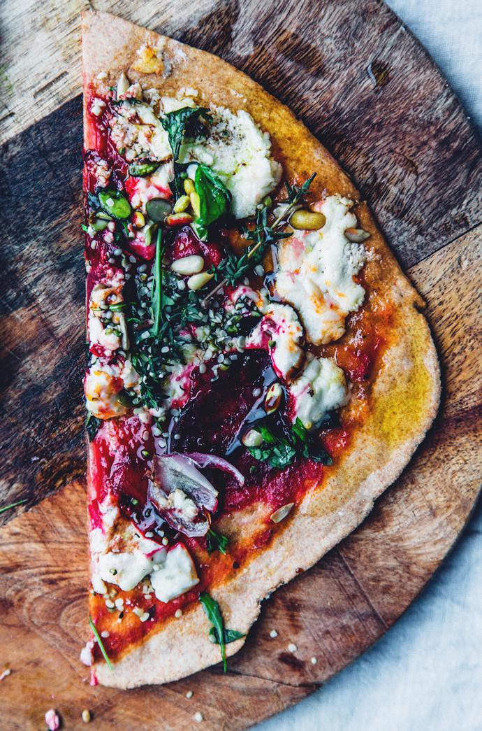 raw pizza recept