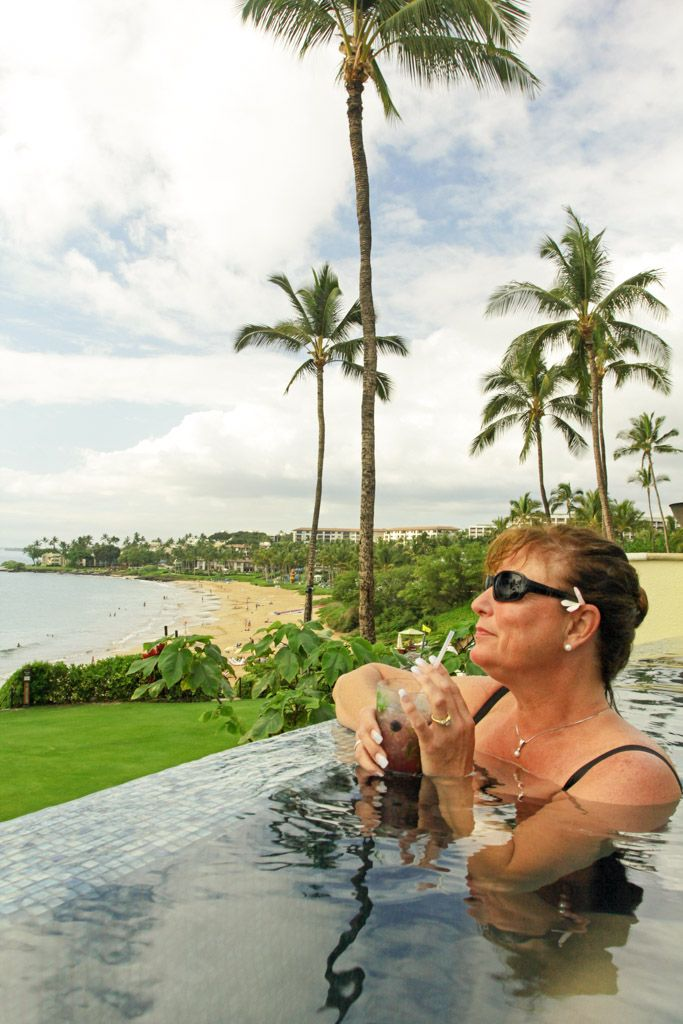 Four Seasons Serenity Pool Maui beach, Maui, Four seasons