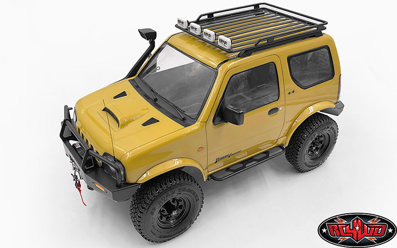 Roof Rack For Mst 1 10 Cmx W Jimny J3 Body Roof Rack Suzuki Jimny Jimny 4x4