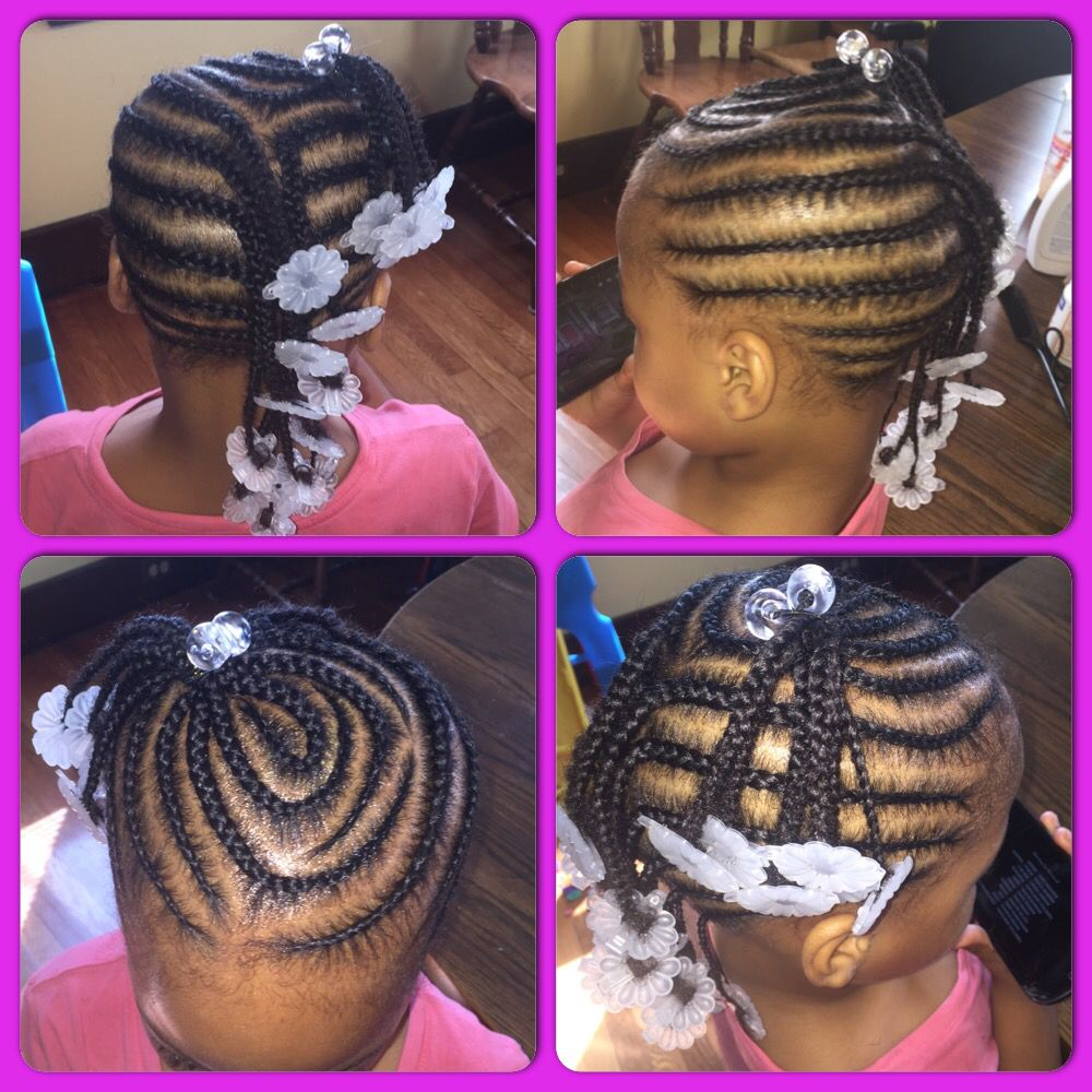 braids for little girls! #cleanparts #precision #barrettes