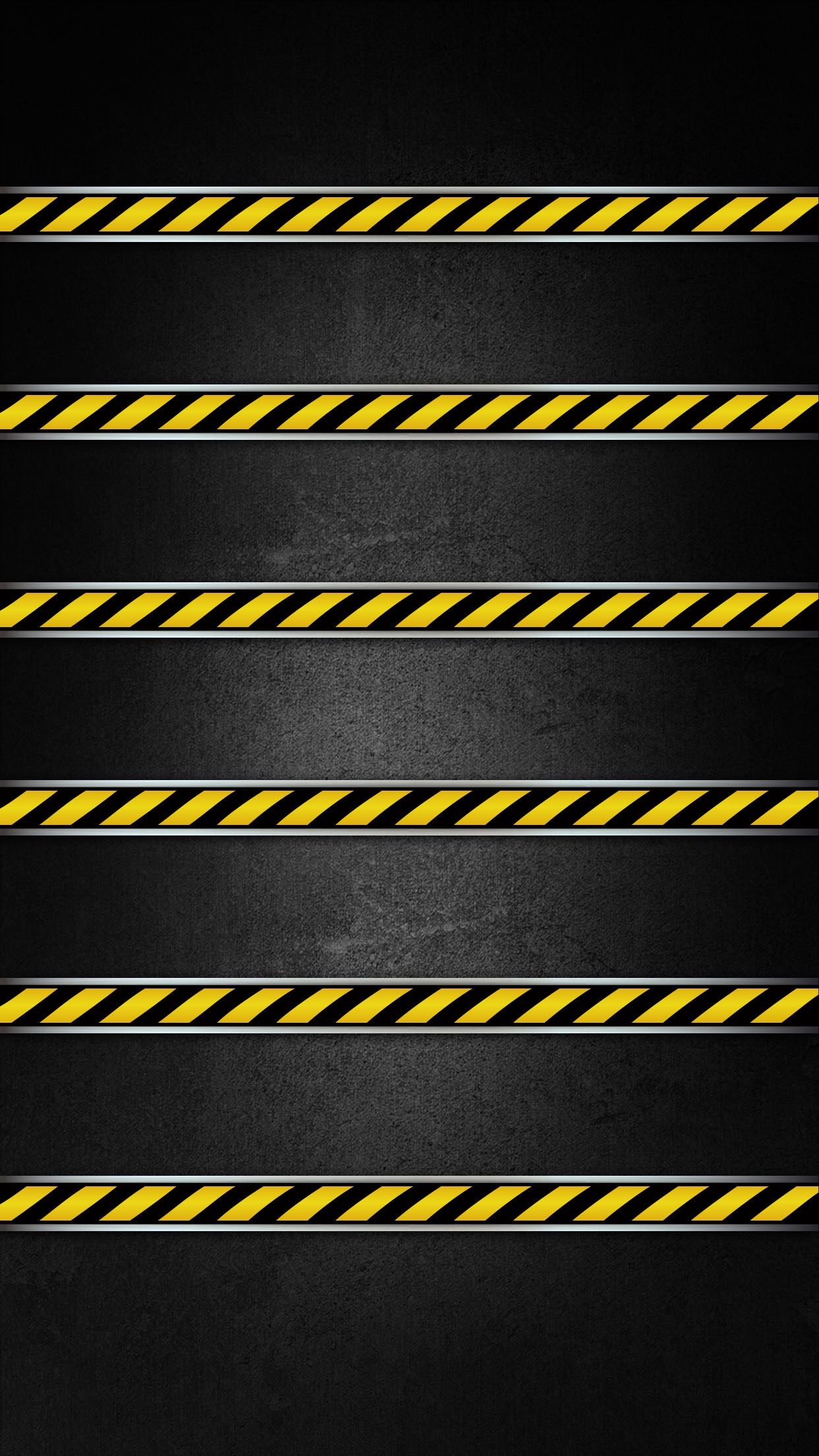 a†'a†'tap and get the free app shelves stylish black warning danger line minimalistic