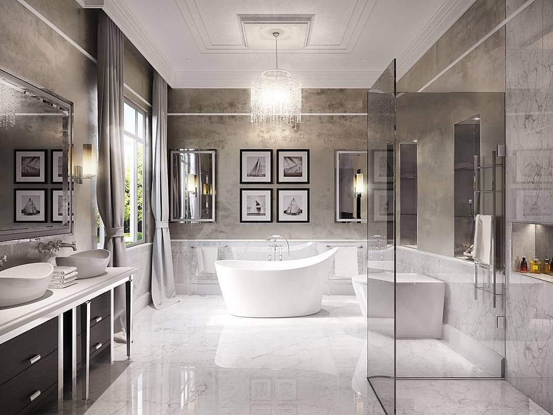 Luxurious Bathroom Architecture Interiordesign Interior Design 3d Sketch Bathroom Luxury Dream Bathroom Luxury Bathroom Interior Design Luxury Bathroom