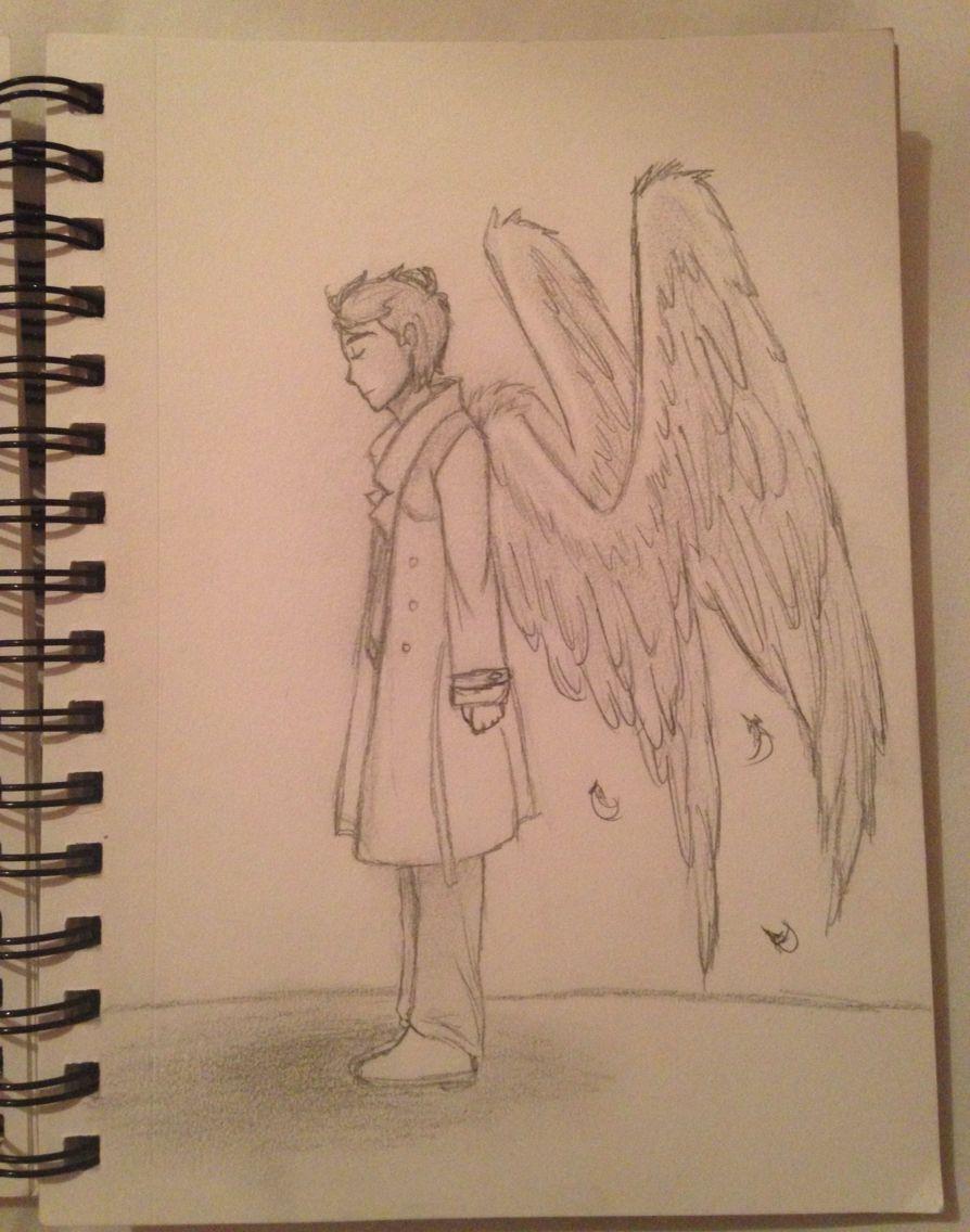 Castiel from supernatural