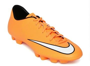 buy popular b1fde 9b8d1 Nike Men Orange Mercurial Victory V HG-V Mercurial Football Boots, Soccer  Shoes,