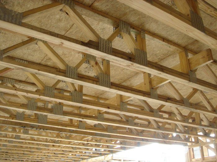 Engineered floor trusses spans review carpet co for Engineered roof trusses prices